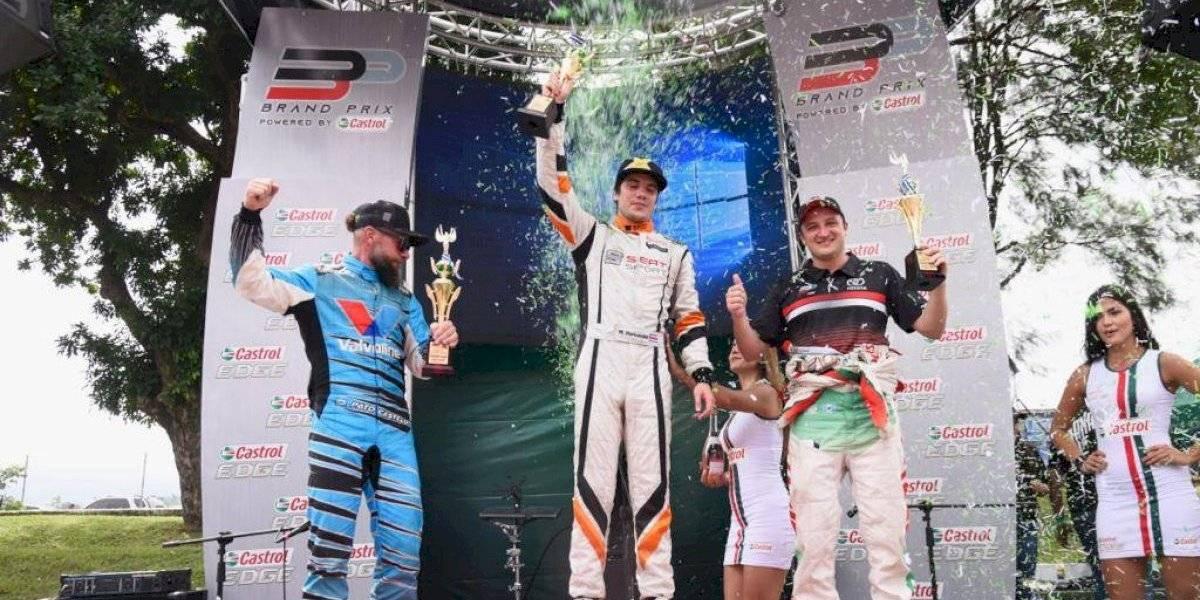 Costa Rica se queda con la fiesta del Gran Premio Audi Jaguar