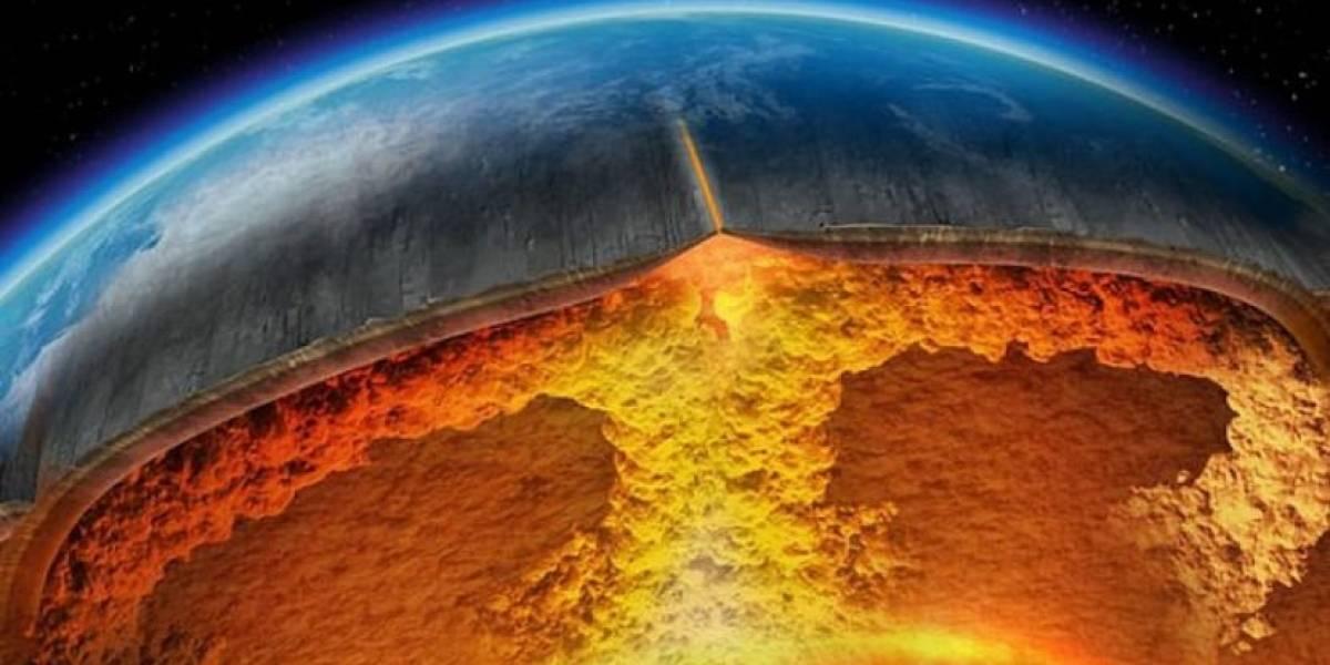Científicos no se explican por qué el núcleo de la Tierra se derrama