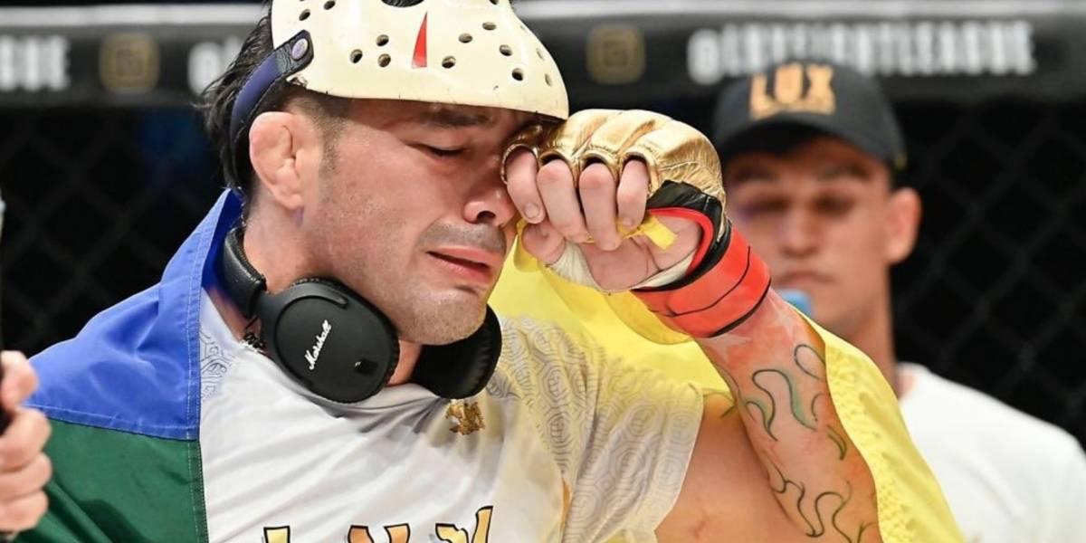 Rony 'Jason' y Brasil se llevan la noche de Lux Fight League 005