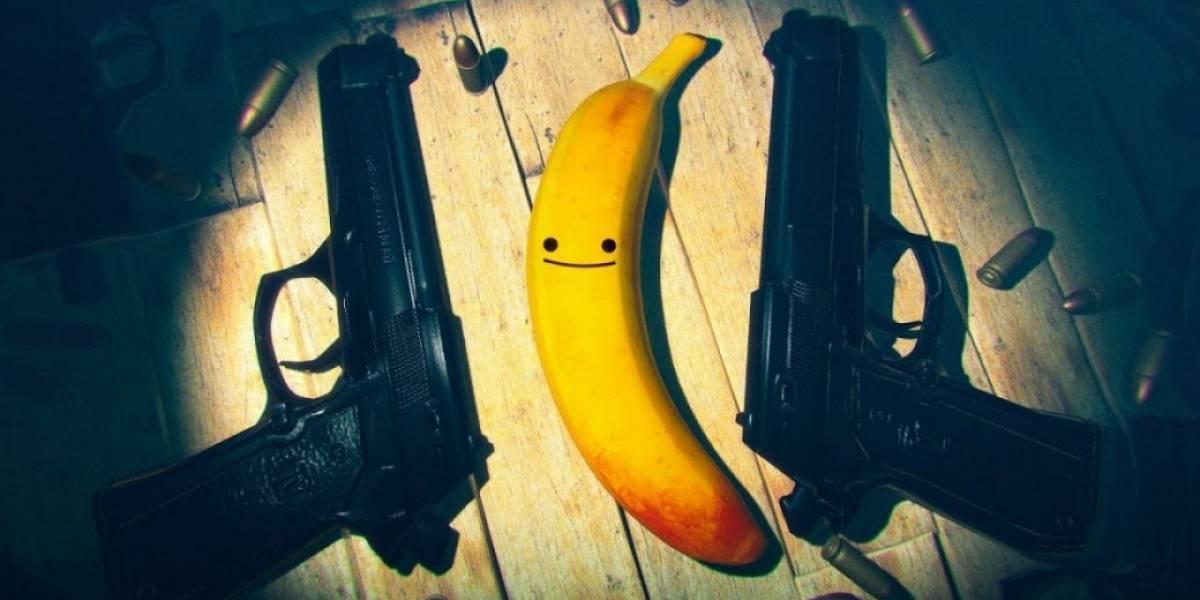 """¡Que no te engañe! """"My Friend Pedro"""" muestra una plátano kawaii, pero que en el fondo tiene un alma asesina"""