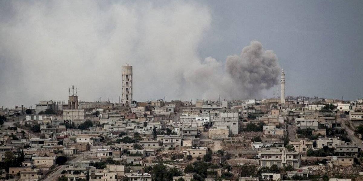 Bombardeos sirios mataron a once civiles