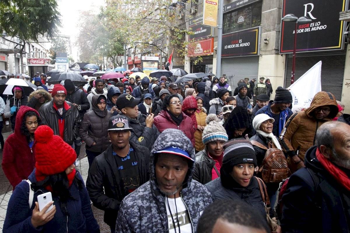 marcha migrantes