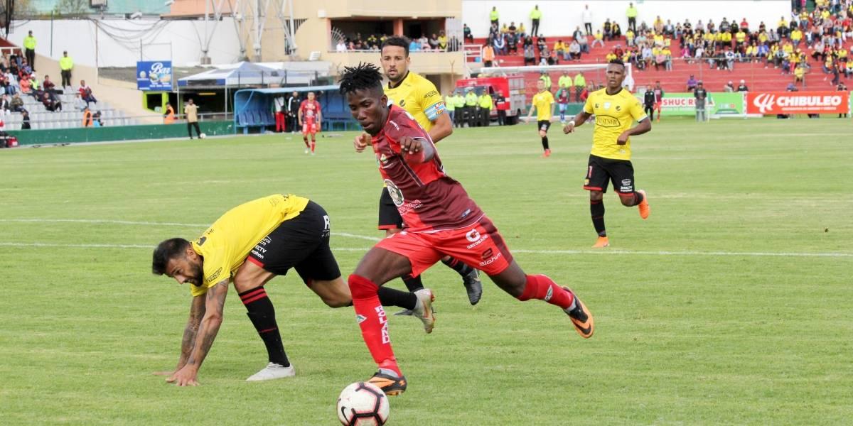 Ecuador Mushuc Runa goleó a Barcelona