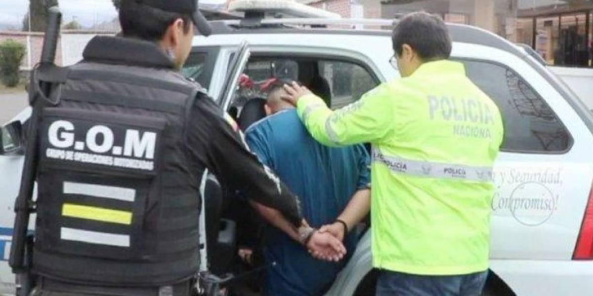 Capturan a presunto autor de femicidio en Cuenca