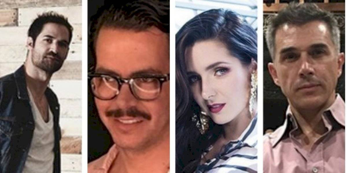 Famosos acudieron a apoyar Despertares de Isaac Hernández