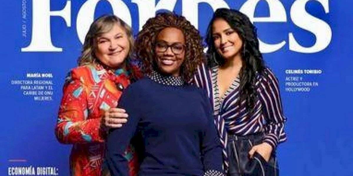 Celinés Toribio en portada revista Forbes Latinoamérica