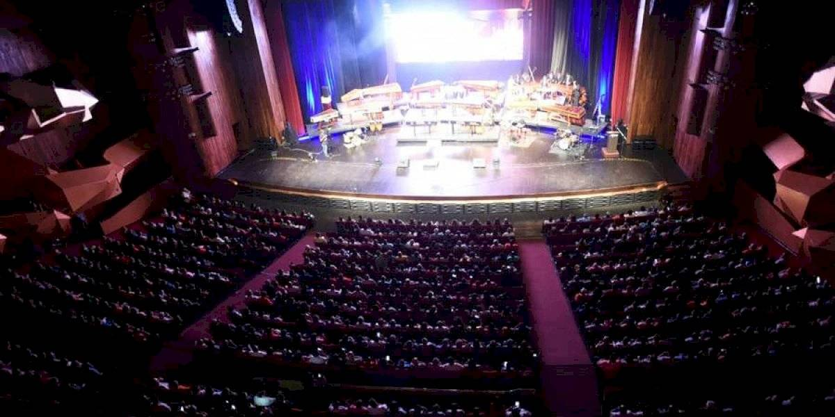 Se realiza el Ensamble Nacional de Fabumarimbas con un Teatro Nacional abarrotado