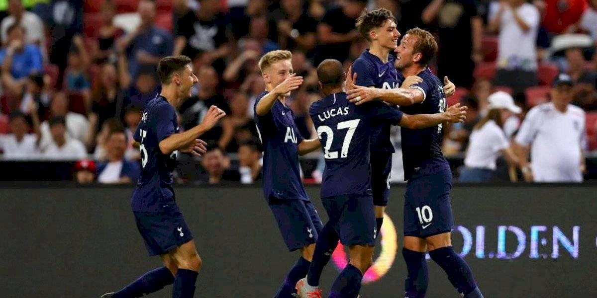 Tottenham derrotó a Juventus en amistoso con golazo de media cancha de Harry Kane