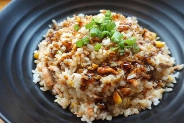 Calorias de una taza de arroz integral cocido