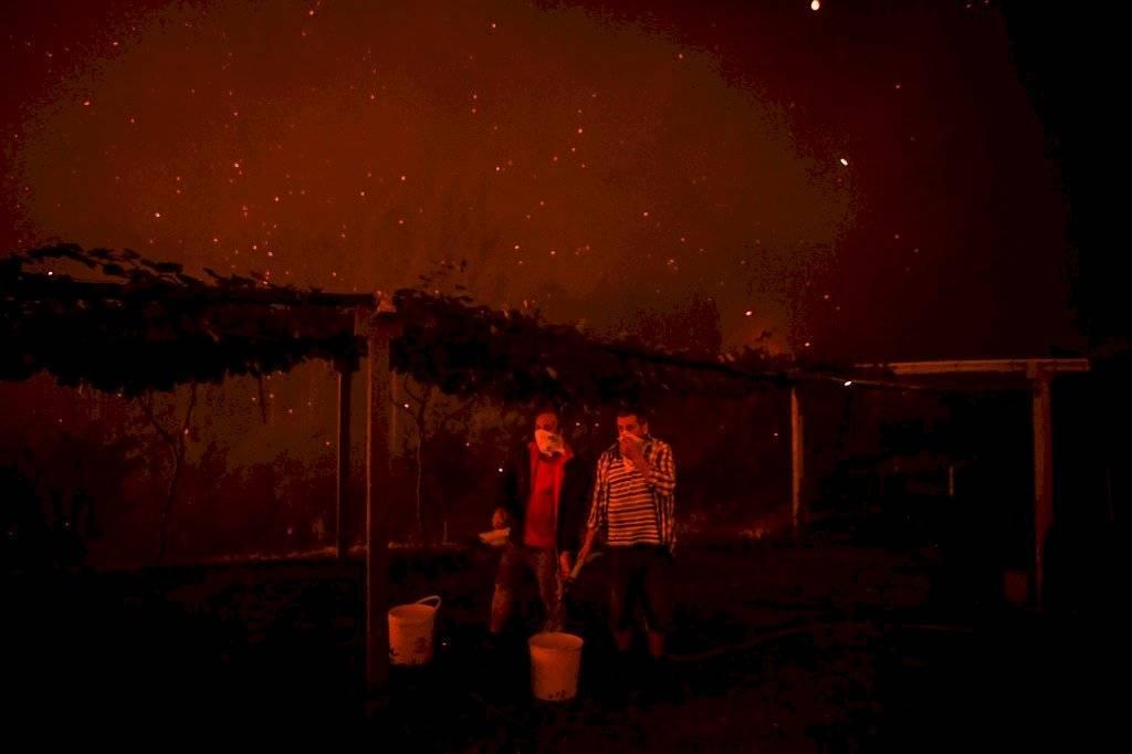 Gran incendio en Portugal