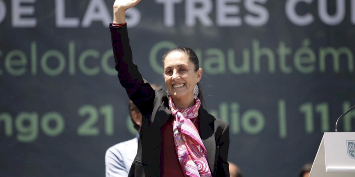 Anuncia Sheinbaum campaña contra el machismo en la CDMX