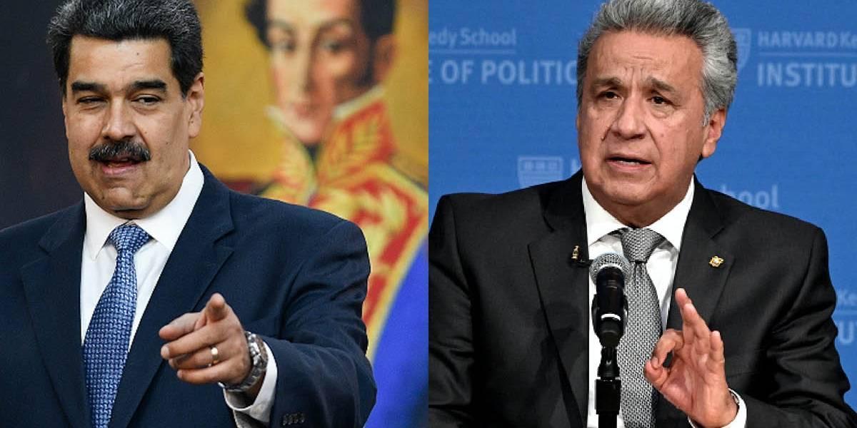 Lenín Moreno dejará de llamar presidente a Nicolás Maduro