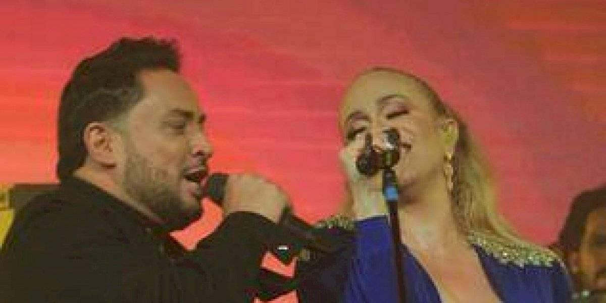 """Manny Manuel y Miriam Cruz muy aplaudidos en su concierto """"El Rey y Su Majestad"""""""