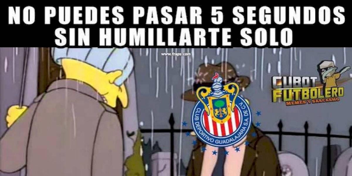 Los memes de la derrota de Chivas en el inicio del Apertura 2019