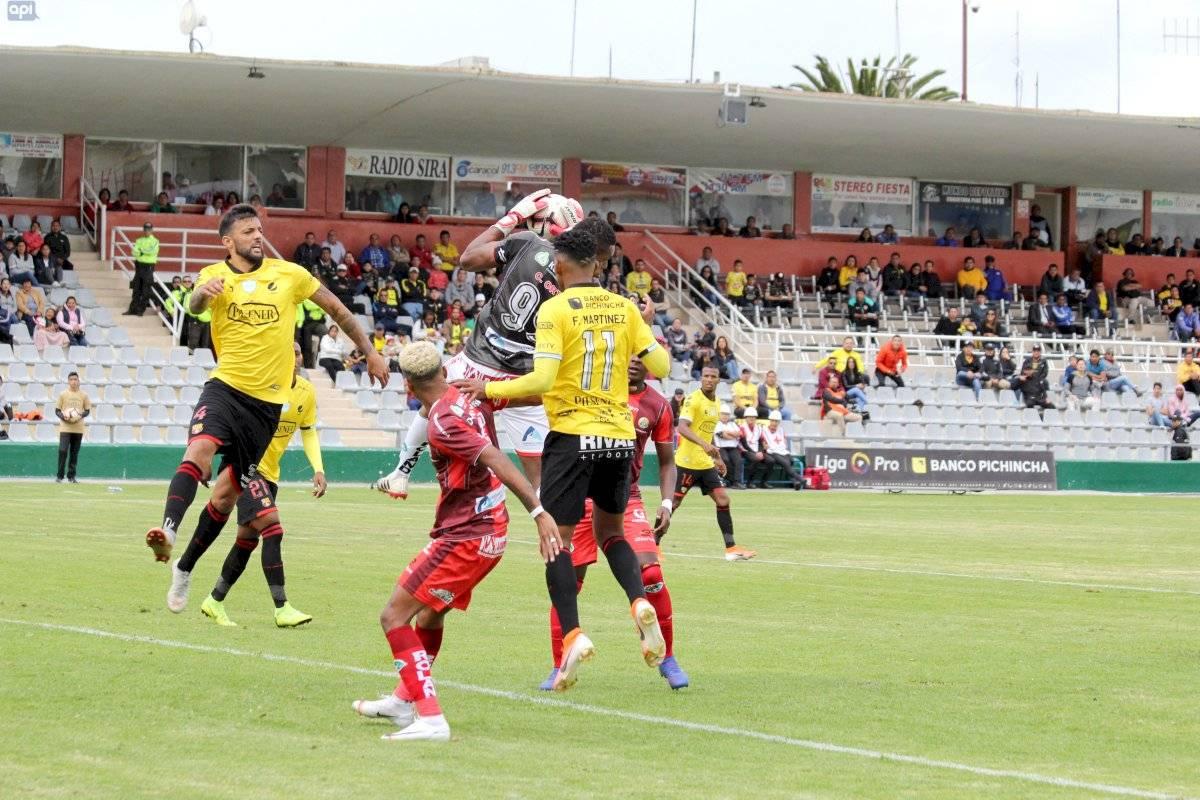 Barcelona SC cayó 5-1 ante Mushuc Runa en Ambato API