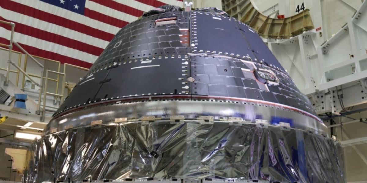 La cápsula Orion de la NASA está lista: viajará a la Luna el 2020