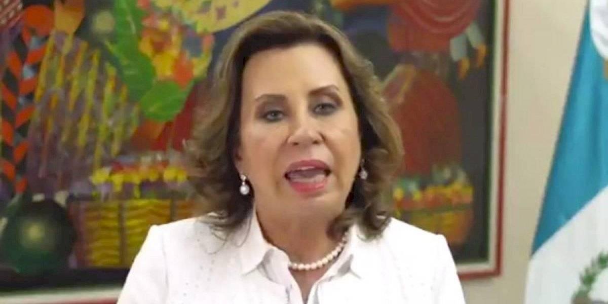 VIDEO. Sandra Torres anuncia la Comisión Nacional contra la Corrupción