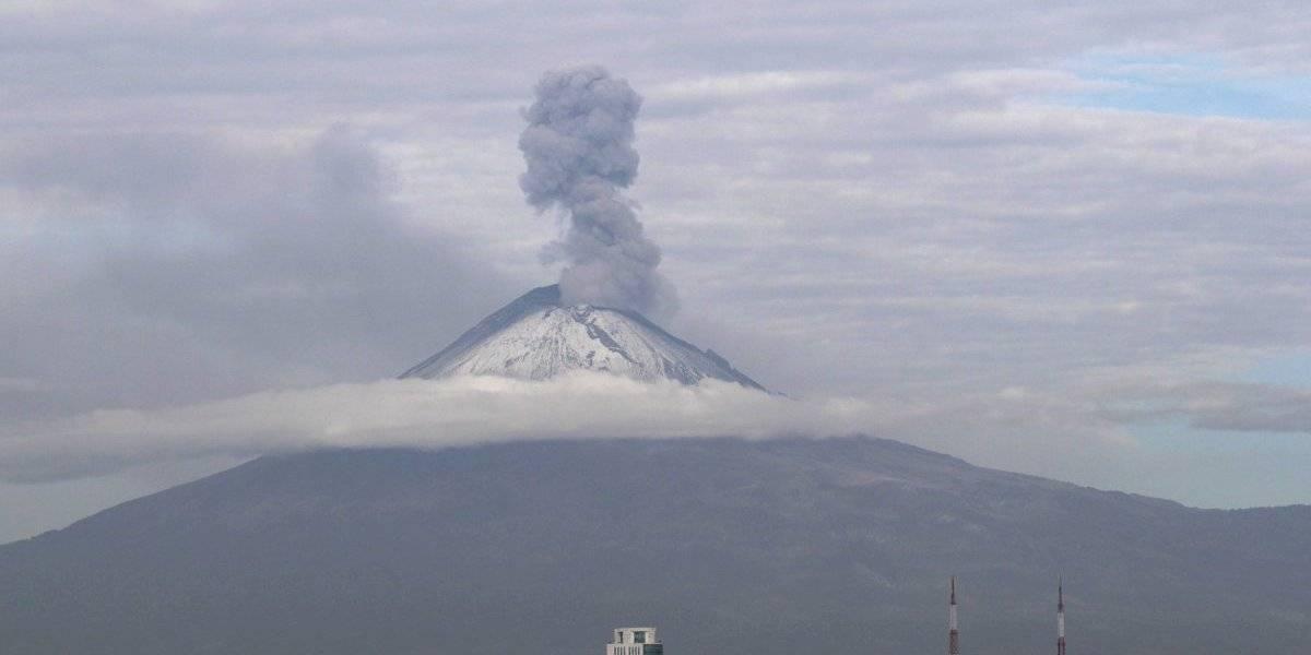 Popocatépetl registra 30 explosiones en las últimas 24 horas