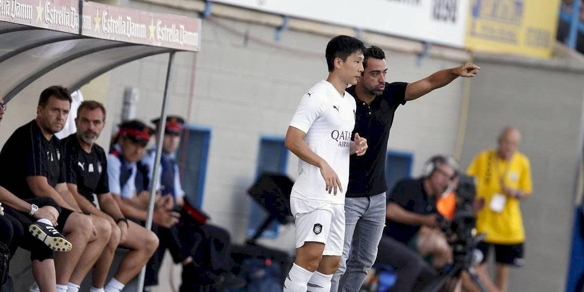 Xavi Hernández debuta como entrenador con empate