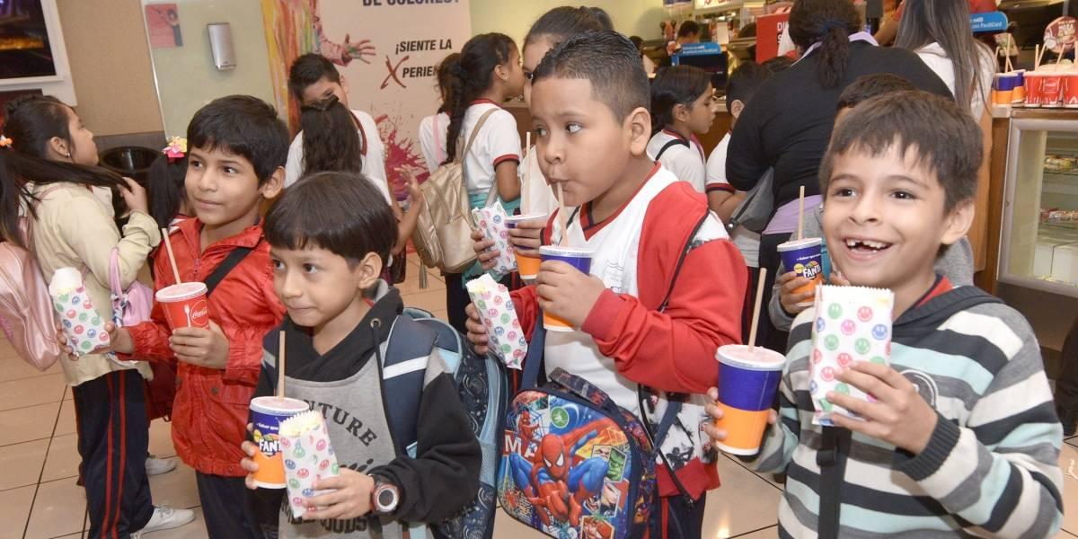 350 niños visitarán el Play Land Park gratis por las fiestas de Guayaquil