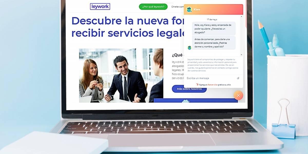 Leywork.com, la plataforma que ofrece servicios legales en línea