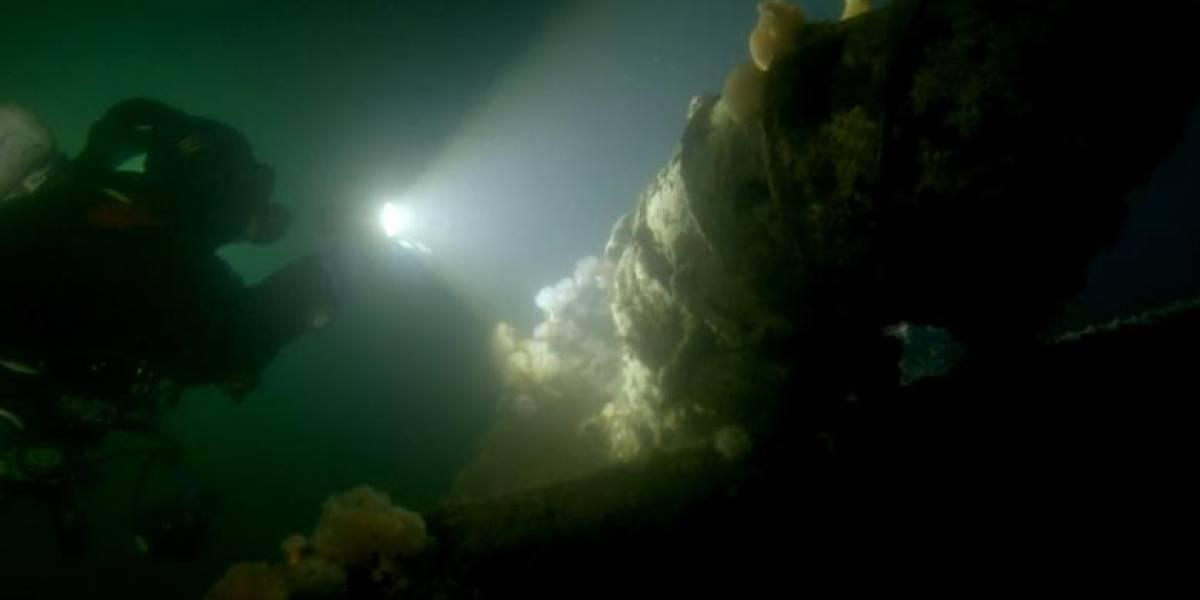 Investigadores encuentran barco hundido en 1875 en perfectas condiciones