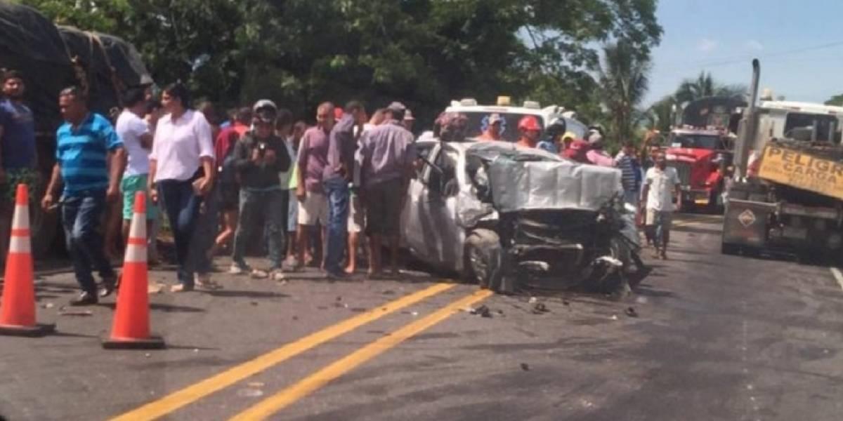 Fatal accidente dejó cinco víctimas en las carreteras de Córdoba