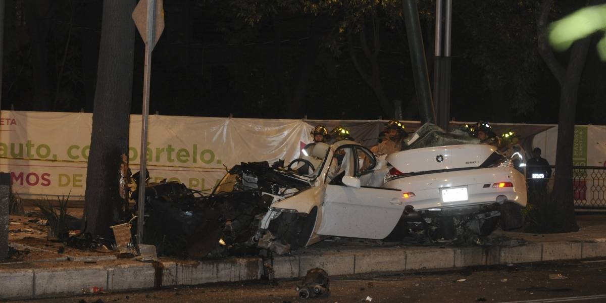 Conductor de BMW que chocó en Reforma exige libertad condicional