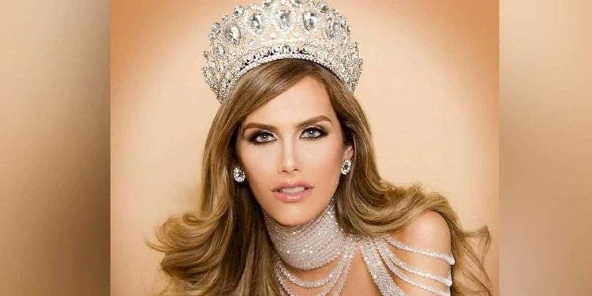 Ángela Ponce enloquece las redes con vestido transparente