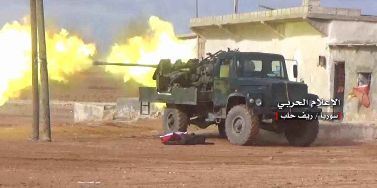 43 muertos en ataque aéreo en zona rebelde de Siria