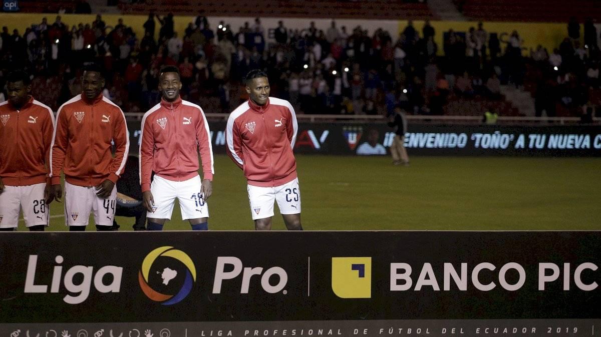 Antonio Valencia en Liga de Quito API