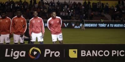 Antonio Valencia en Liga de Quito