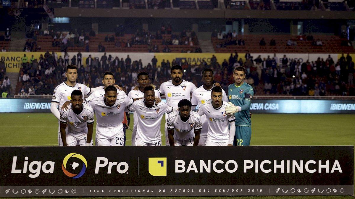 Liga de Quito API