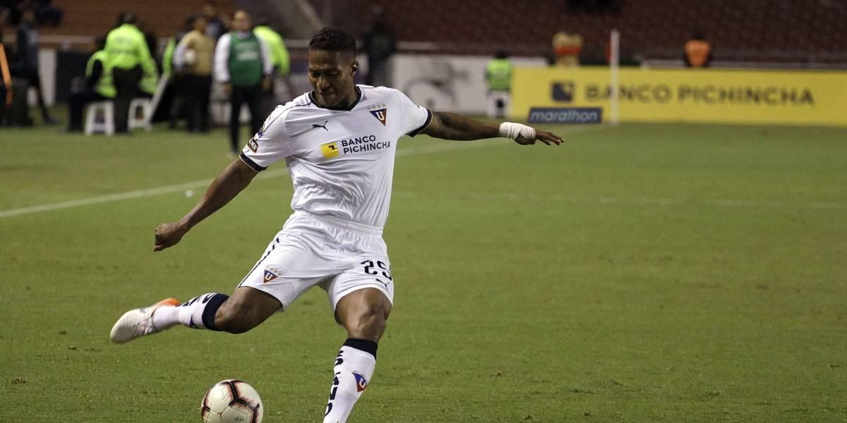 La disculpa de Antonio Valencia a la hinchada de Liga de Quito