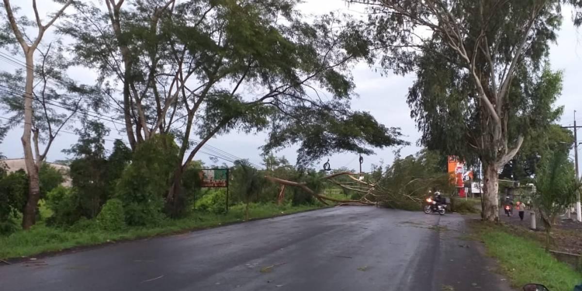 Suspenden clases en Retalhuleu por lluvias y fuerte viento