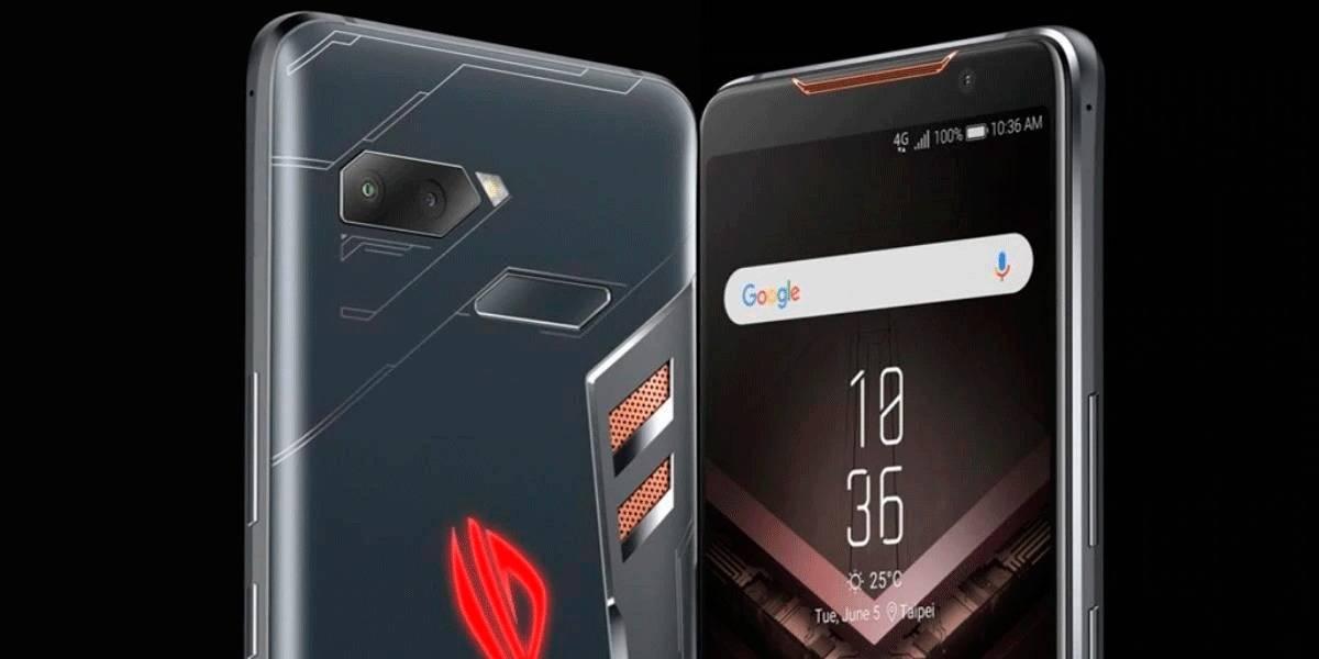 Brutal para el gamer: ASUS anuncia su espectacular ROG Phone II