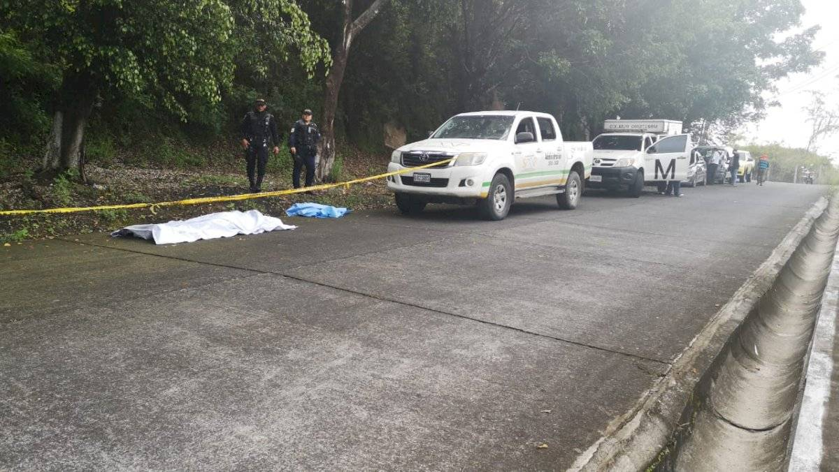cadáver de mujer localizado en San Miguel Petapa