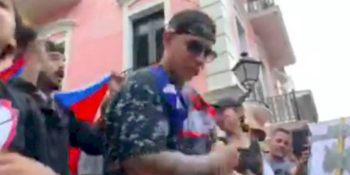 VIDEOS: Daddy Yankee en la manifestación de Fortaleza