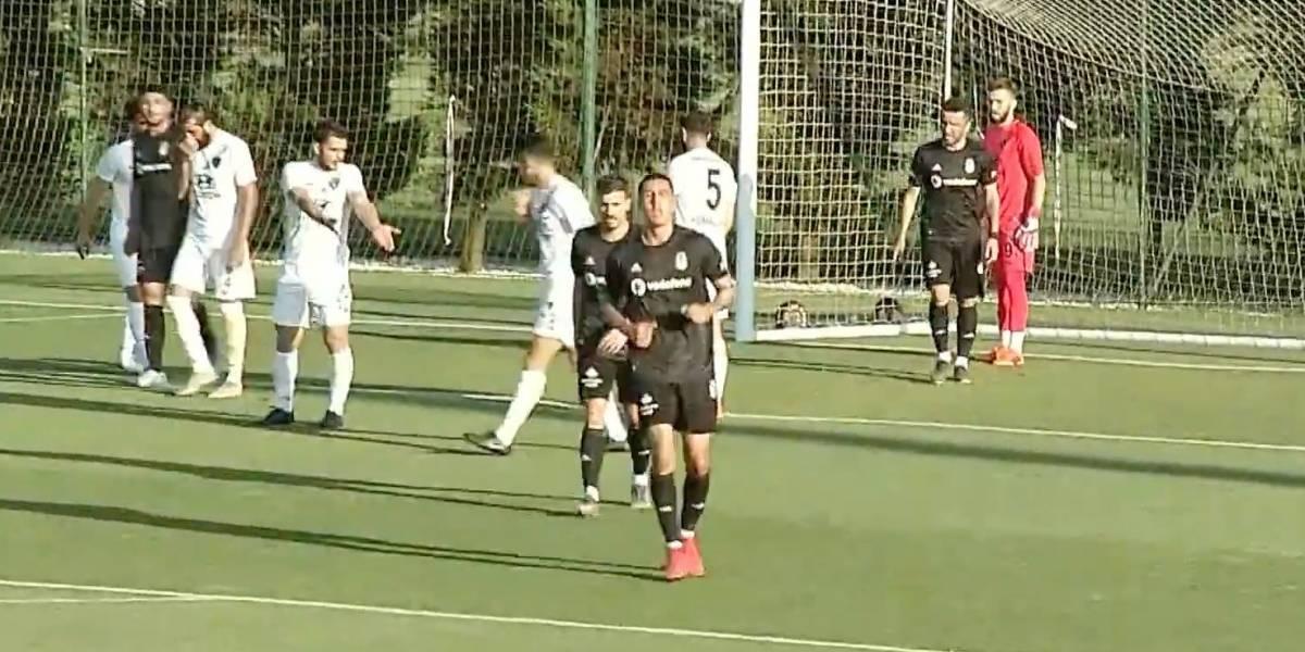 Enzo Roco convierte un gol en amistoso con Besiktas mientras aún define su futuro