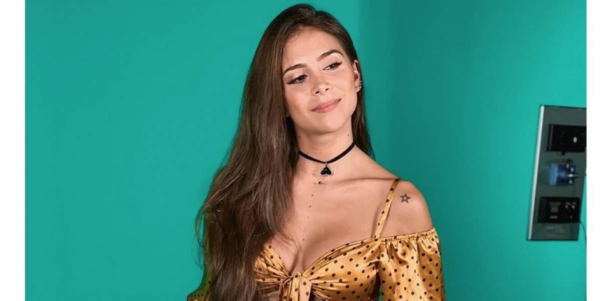 Greeicy Rendón calentó las redes al posar con transparente bikini