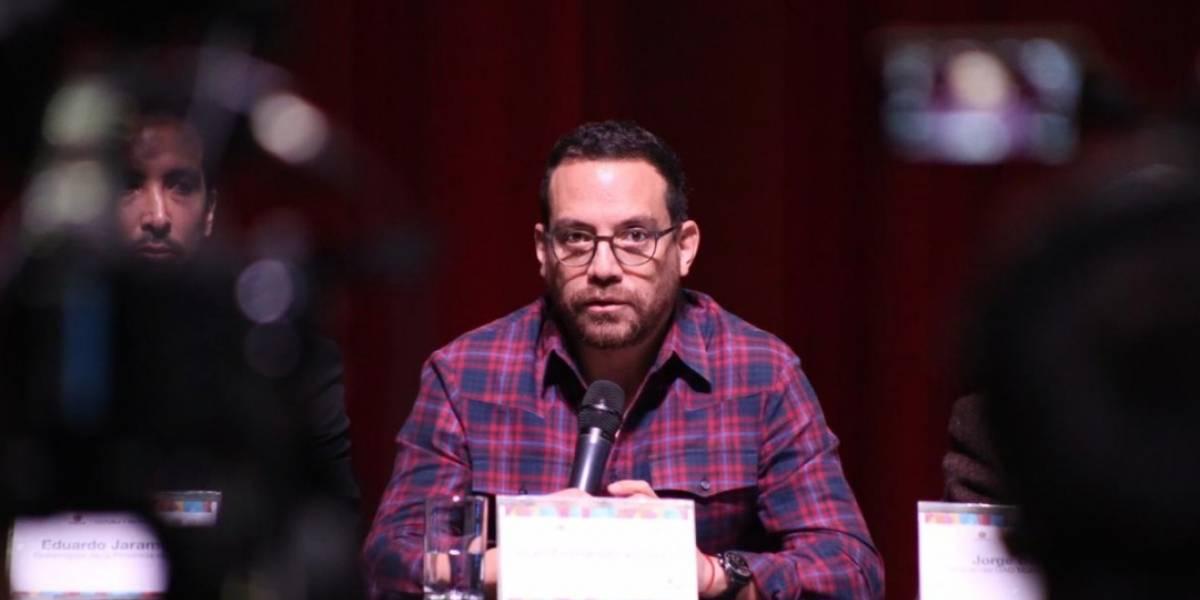 Ministro Juan Fernando Velasco: Festival Internacional de Artes Vivas de Loja costará $ 1,6 millones