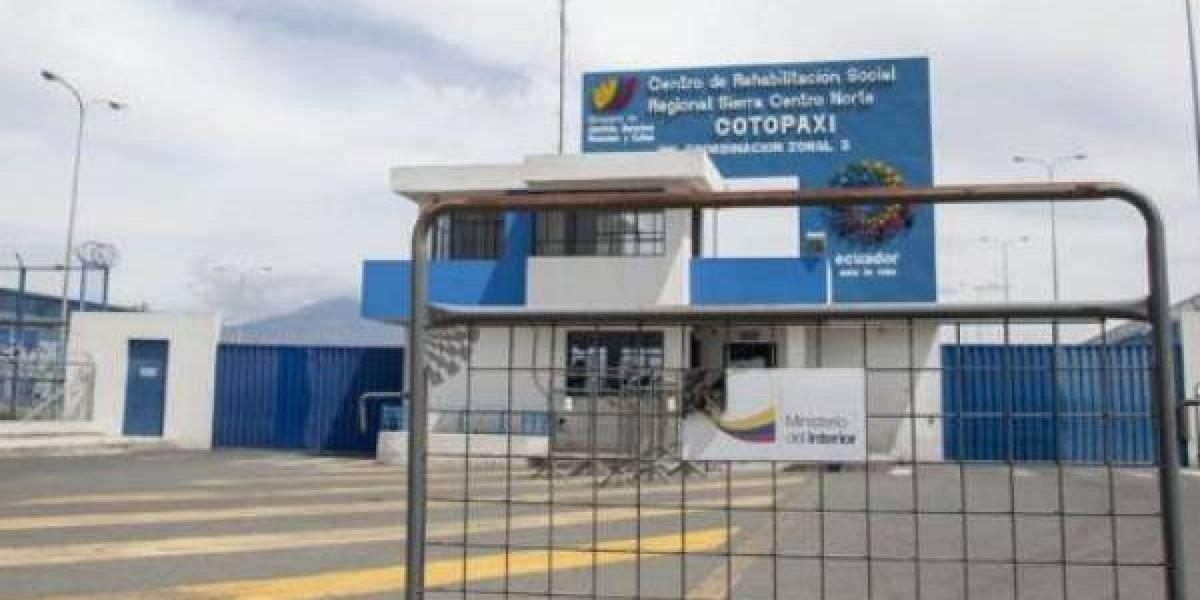 Latacunga: Amotinamiento en Centro de Rehabilitación Social