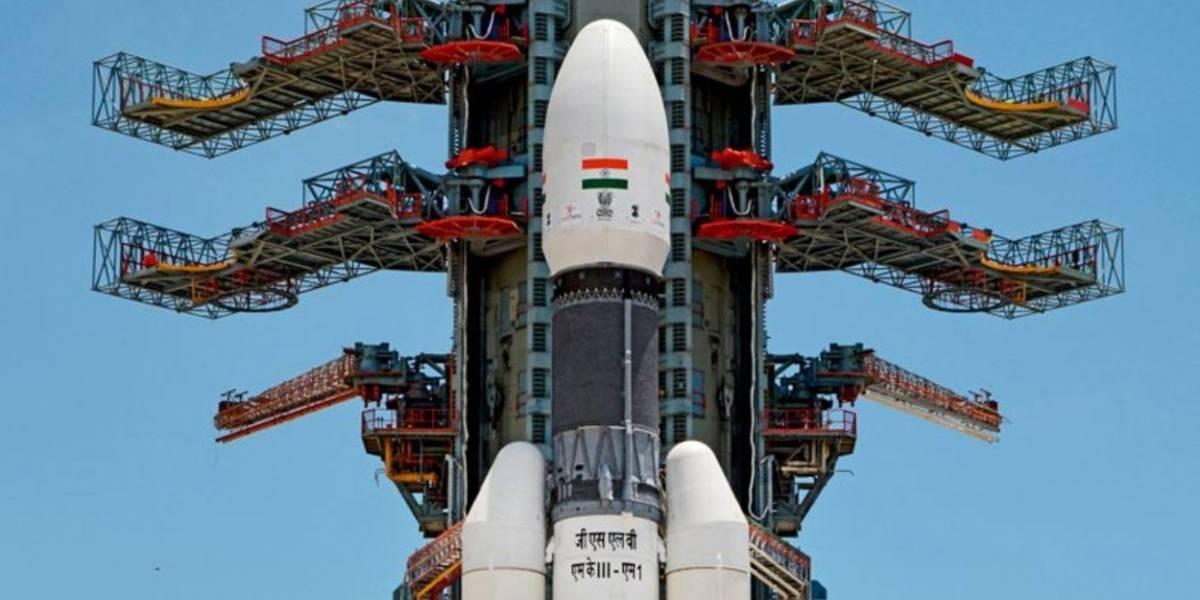 Chandrayaan-2: India lanza misión al polo sur de la Luna con éxito