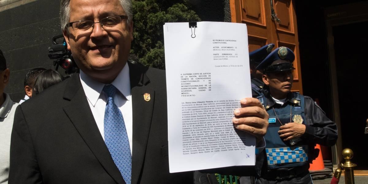 Presentan controversia por ampliación de mandato ante la SCJN