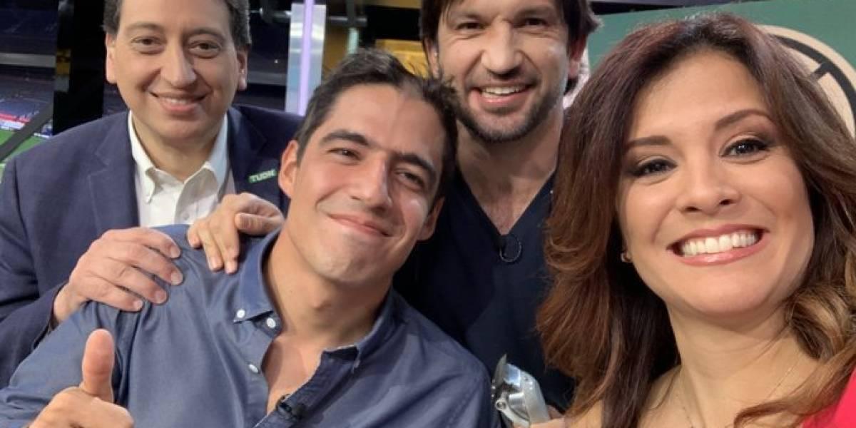VIDEO: Andrés Vaca rapado en vivo por fallar en pronóstico de Copa Oro