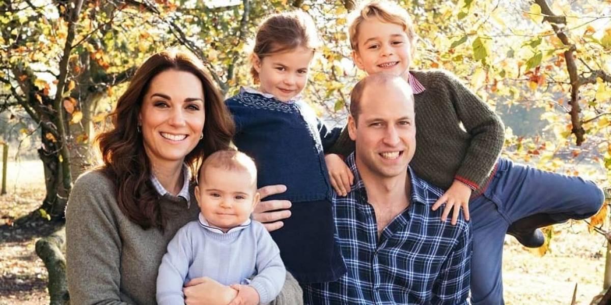 El príncipe George cumple seis años y Kate Middleton lo celebra compartiendo tres tiernas fotografías