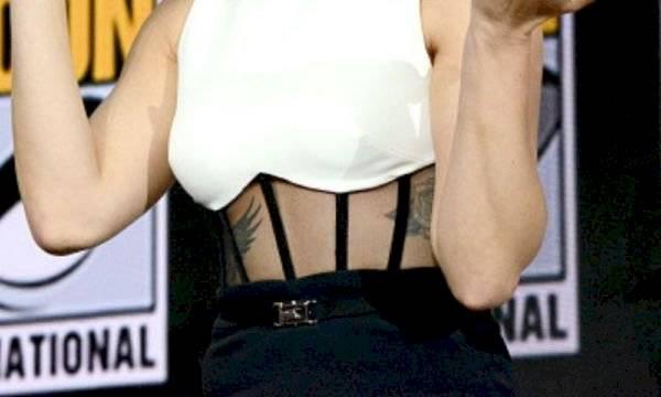 El tatuaje nuevo de Scarlett Johansson