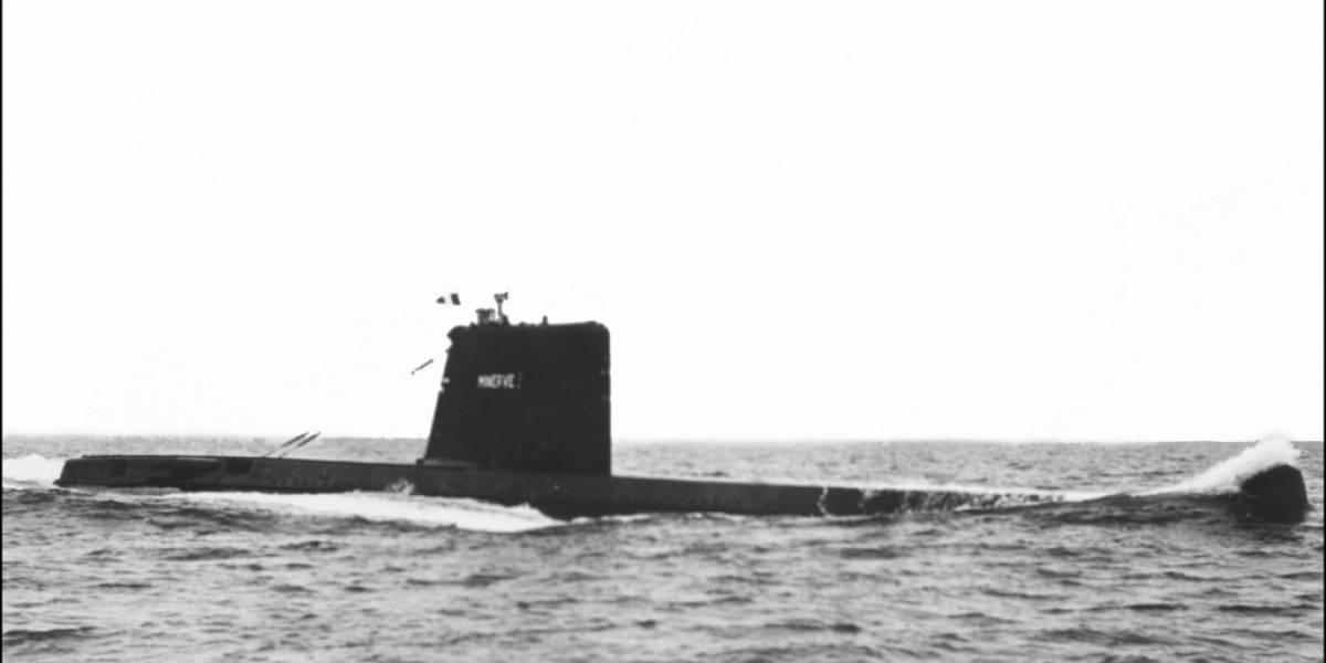 Encuentran un submarino francés desaparecido hace 50 años