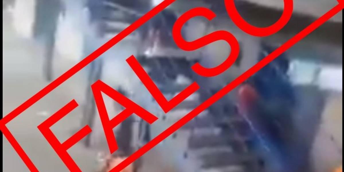 Un video que circula en redes no corresponde al amotinamiento en la cárcel de Latacunga