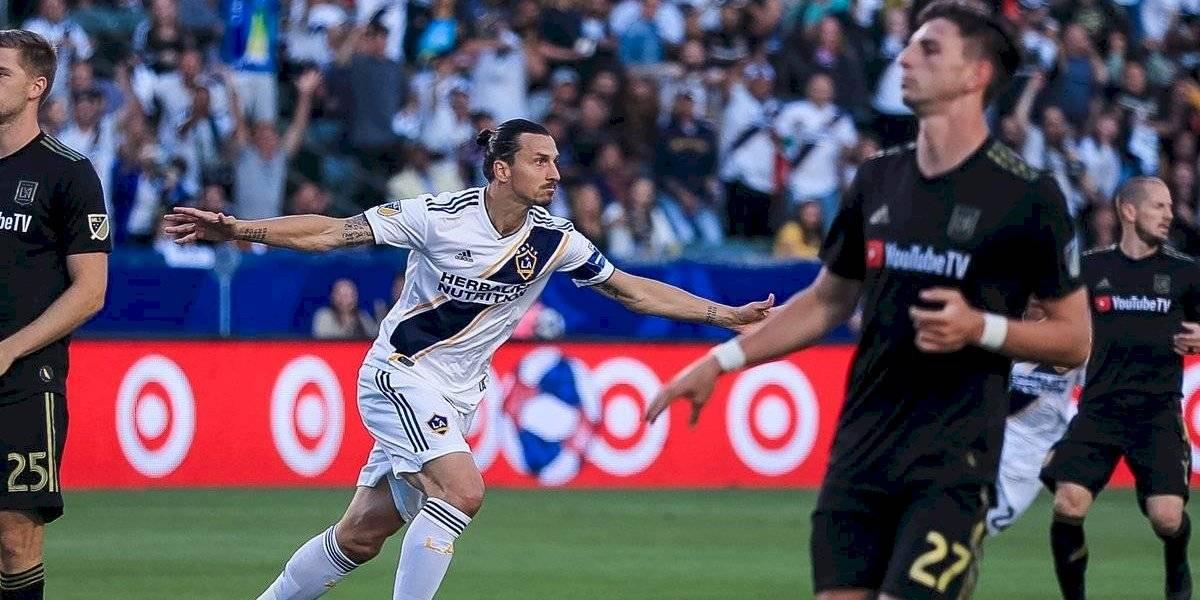 La MLS podría sancionar a Zlatan Ibrahimovic por propinarle codazo a jugador del LAFC